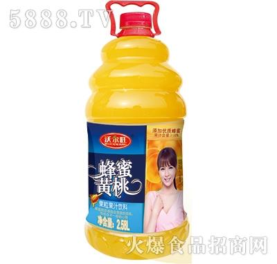 2.58L沃尔旺蜂蜜黄桃