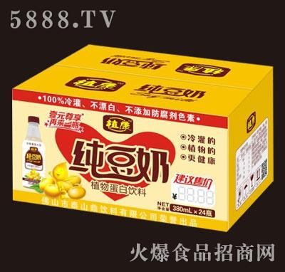 植康纯豆奶380mlx24