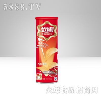 艾比利薯片罐装(95克)红