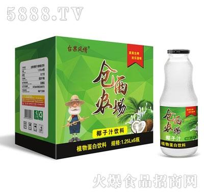 仓西农场椰子汁1.25Lx6瓶