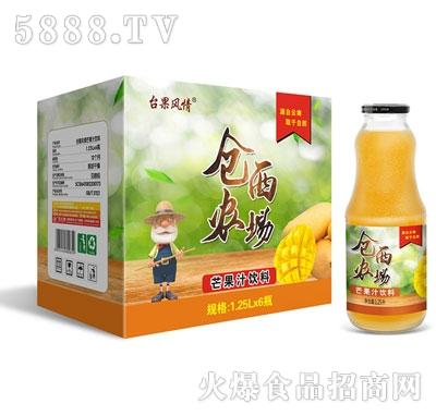 仓西农场芒果汁1.25Lx6瓶