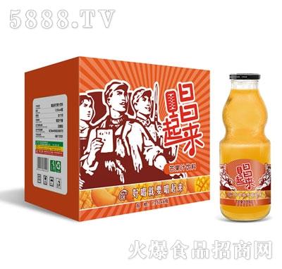 唱起来芒果汁1.25Lx6瓶(葫芦瓶)