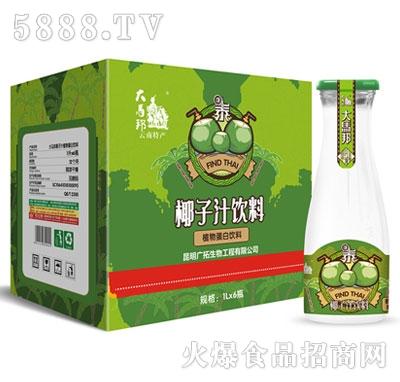 大马邦椰子汁1Lx6瓶(大口瓶)