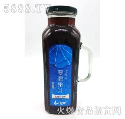 恒爱蓝莓汁1L