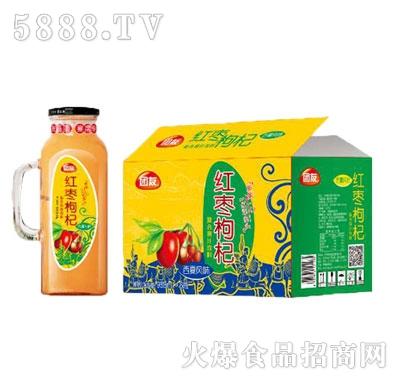 团友红枣枸杞复合果汁988mlx6瓶