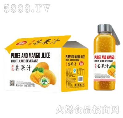 团友原浆芒果汁420mlx15瓶