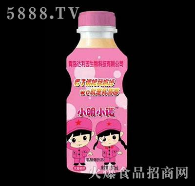 小明小诺乳酸菌饮品草莓味340ml