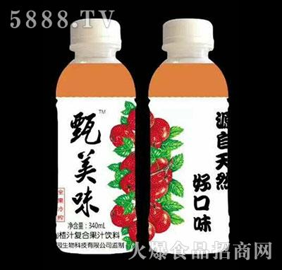 甄美味山楂汁340ml