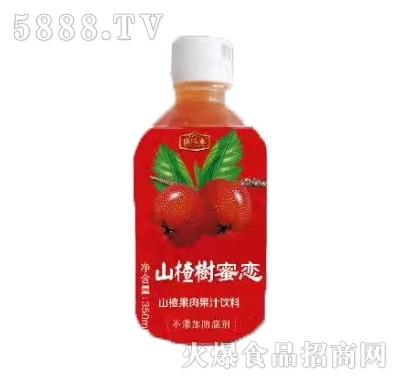 康味来山楂树蜜恋山楂果汁饮料350ml