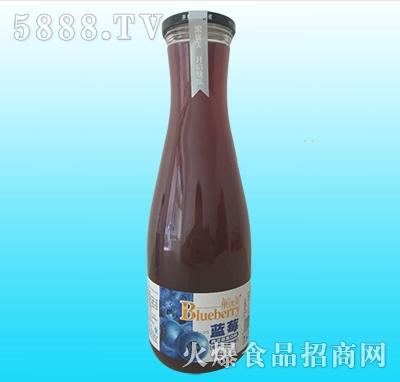 果优美益生菌发酵蓝莓汁1.5L