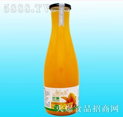 果优美益生菌发酵芒果汁1.5L