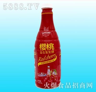 果优美益生菌发酵樱桃汁1.25L