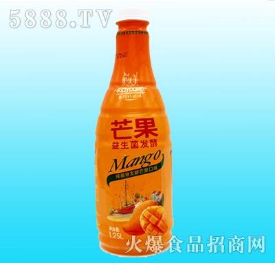 果优美益生菌发酵芒果汁1L
