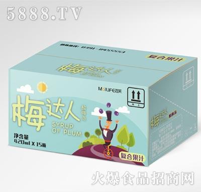 迈芙梅达人酸梅汤420mlX15瓶