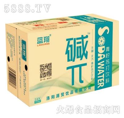 蓝翔碱π青柠苏打饮料350mlX24瓶