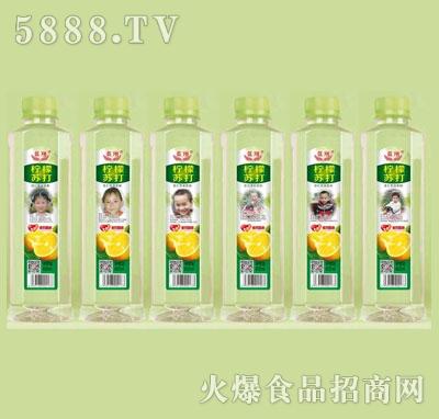 蓝翔柠檬苏打400ml