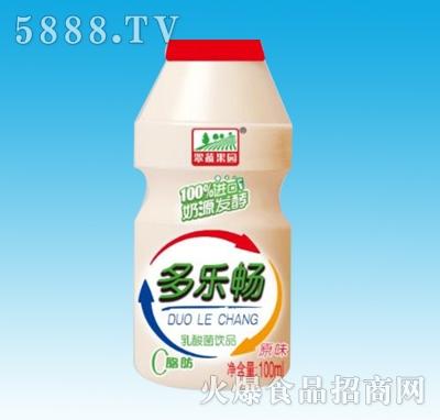 多乐畅乳酸菌100ml原味