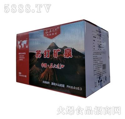 苏达尔苏打矿泉水350mlx24瓶