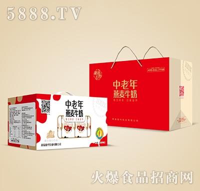 燕麦中老年开窗红250mlx12盒