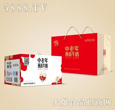 中老年燕麦复合蛋白饮料无蔗糖250mlx12盒