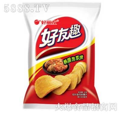 好友趣大凹凸韩国泡菜味45g