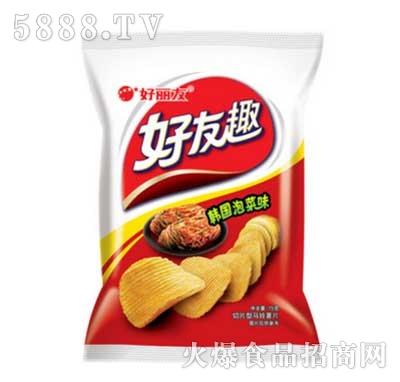 好友趣大凹凸韩国泡菜味75g