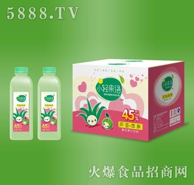 小轻果语芦荟苹果复合果汁饮料