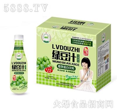 稻米香绿豆汁植物蛋白饮料1.25Lx6瓶