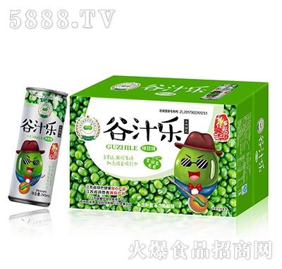 稻米香谷汁乐绿豆味植物蛋白饮料245ml