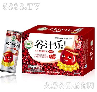 稻米香谷汁乐红豆味植物蛋白饮料245ml