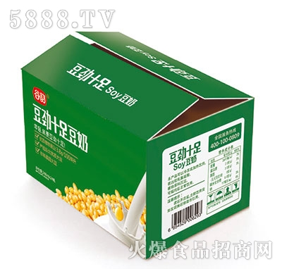 谷韵豆劲十足soy豆奶248mlx24瓶