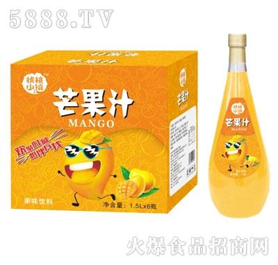 核桃小镇芒果汁1.5LX6