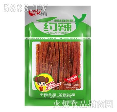 宇微108g约辣(清新辣)零售价:2元
