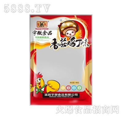 宇微108g香菇鸡丁味零售价:2元