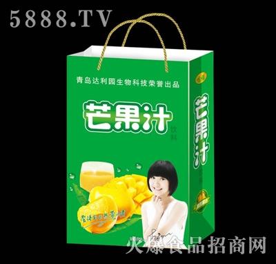 达利园芒果汁饮料手提袋