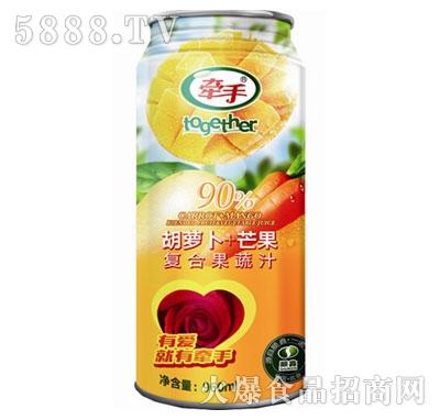 牵手胡萝卜+芒果复合果蔬汁960ml产品图