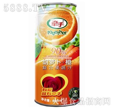 牵手胡萝卜+橙复合果蔬汁960ml产品图