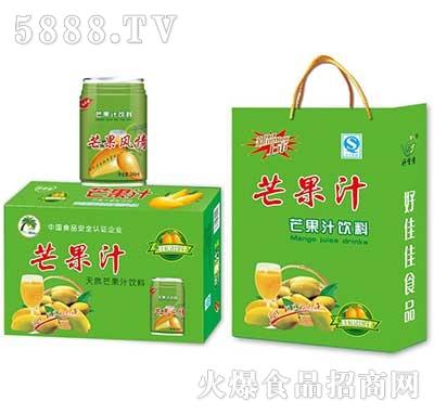 芒果汁天然果汁饮料