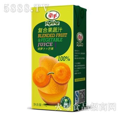 牵手胡萝卜+芒果复合果蔬汁1L产品图
