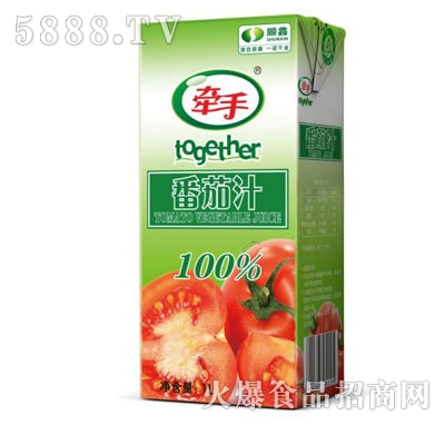 牵手番茄汁1L产品图