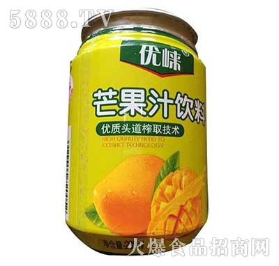优崃芒果汁饮料238ML