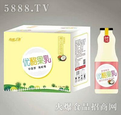 海峡之恋优酪果乳椰子牛奶入味饮料1.25Lx6瓶