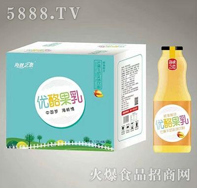 海峡之恋优酪果乳芒果牛奶入味饮料1.25Lx6瓶