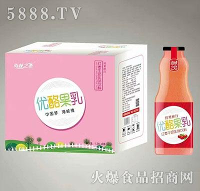 海峡之恋优酪果乳红枣牛奶入味饮料1.25Lx6瓶