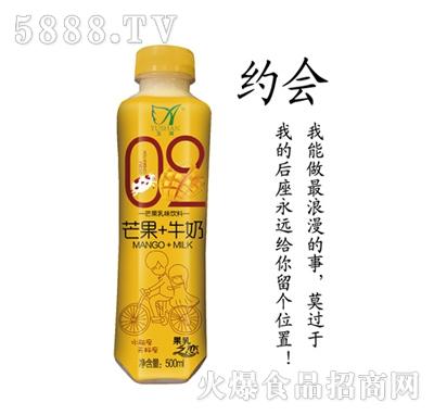 玉潸芒果+牛奶乳味饮料500ml