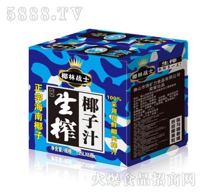 1.25Lx6瓶椰林战士生榨椰子汁