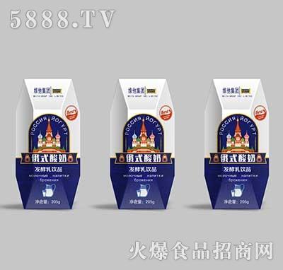 龙兴山庄俄式酸奶205g