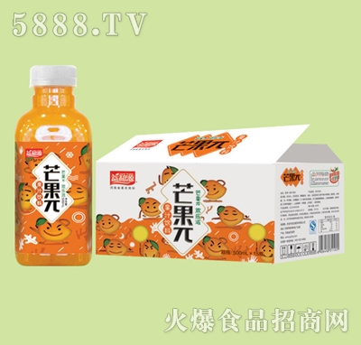 益和源芒果π果汁饮料500mlx15瓶