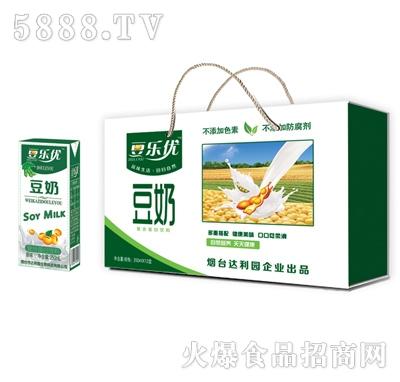 豆乐优豆奶复合蛋白饮料250mlx12盒(手提礼盒)