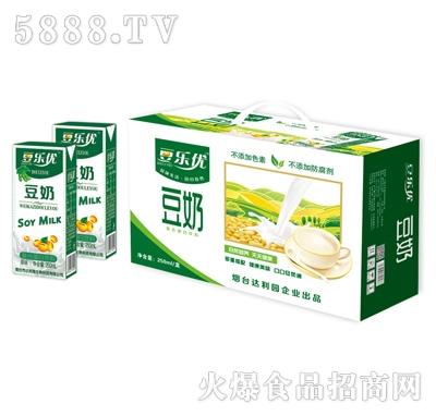 豆乐优豆奶复合蛋白饮料250ml(礼盒)
